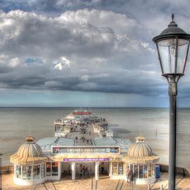 Cromer Pier by Peter Jarvis - Landscapes Beaches ( cromer, norfolk, pier, beach, seaside )