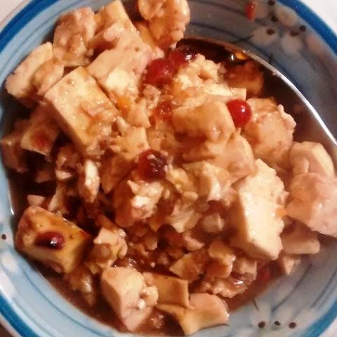 Orange Cranberry Tofu