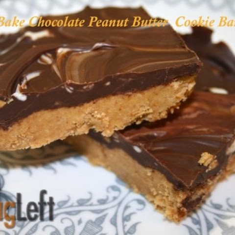No-Bake Chocolate Peanut Butter Cookie Bars