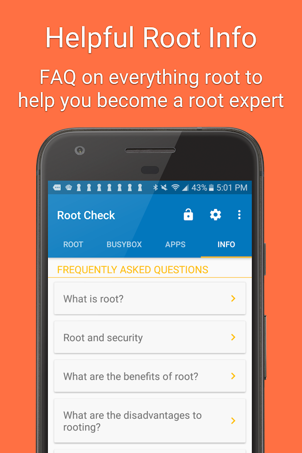 Root Check For Superuser Screenshot 3