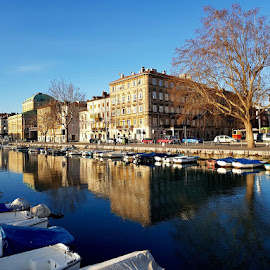 Rijeka, Croatia by Dražen Komadina - City,  Street & Park  Street Scenes ( rijeka, dražen komadina, croatia )