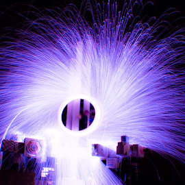 by Annie Christodoulou - Abstract Light Painting (  )