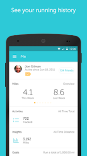 App Runkeeper - GPS Track Run Walk APK for Windows Phone
