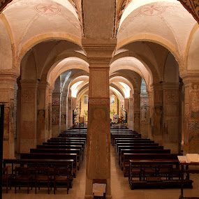 A church within a church by Giancarlo Ferraro - Buildings & Architecture Places of Worship ( old, church, art, silence, architecture, big, religious )