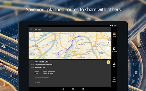 App Yandex.Navigator APK for Kindle