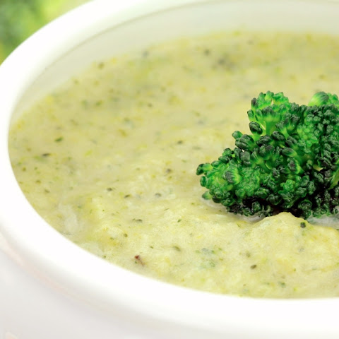 Curry Cream of Broccoli Soup
