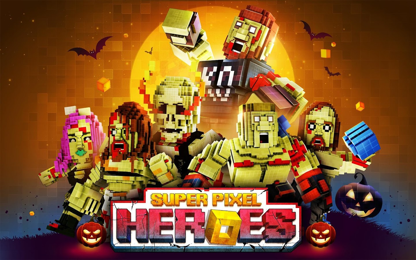 Super Pixel Heroes Screenshot 12