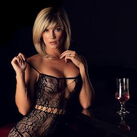 Sensual by Jasper Van Zyl - Nudes & Boudoir Boudoir ( glamour, blonde, model, lingerie, woman, sensual )