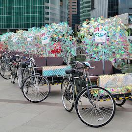 Trishaws by Koh Chip Whye - Transportation Bicycles (  )