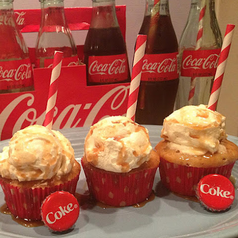 Coke Float Cupcakes