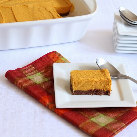 Low Carb Pumpkin Bars (Gluten Free and Dairy Free)