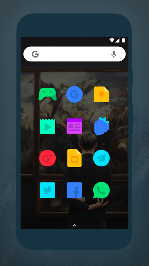 Aivy - Icon Pack Screenshot 0