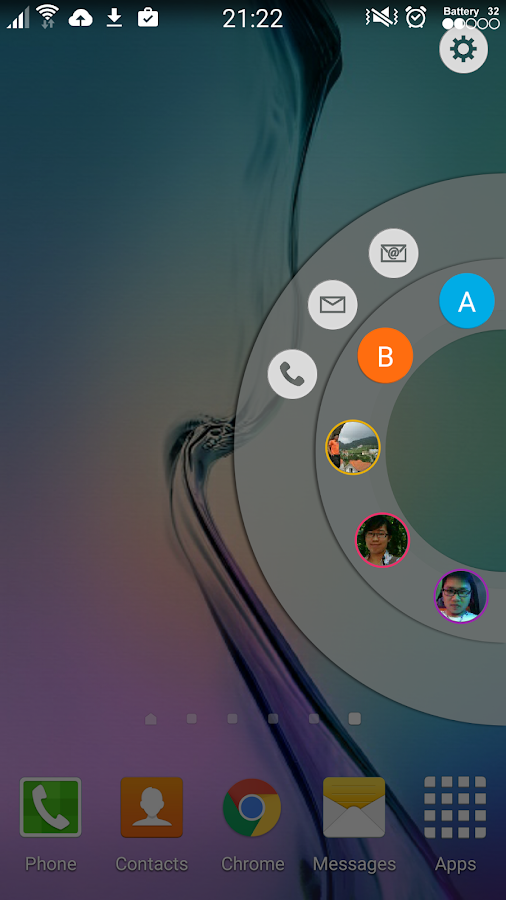 Edge Circle for Note & S6 Edge Screenshot 1