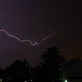 Not gonna lie - took me over 50 shots to get this one pic.  Thank goodness it's not film! by Jeff Kalen - Landscapes Weather