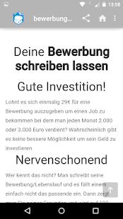 app bewerbungen und lebenslauf apk for windows phone - Bewerbung Schreiben App