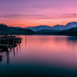 Red Lake by Emanuele Zallocco - Landscapes Weather (  )