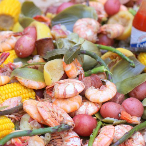 Beer Shrimp Boil with Beer Sauce and Homemade Shrimp Boil Spice