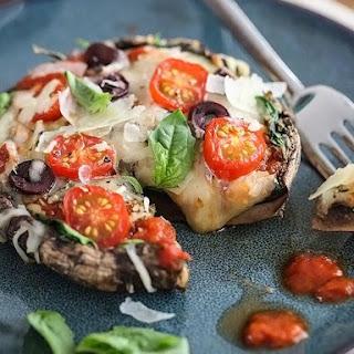 Portobello Mushroom Pizza Vegetarian Recipes