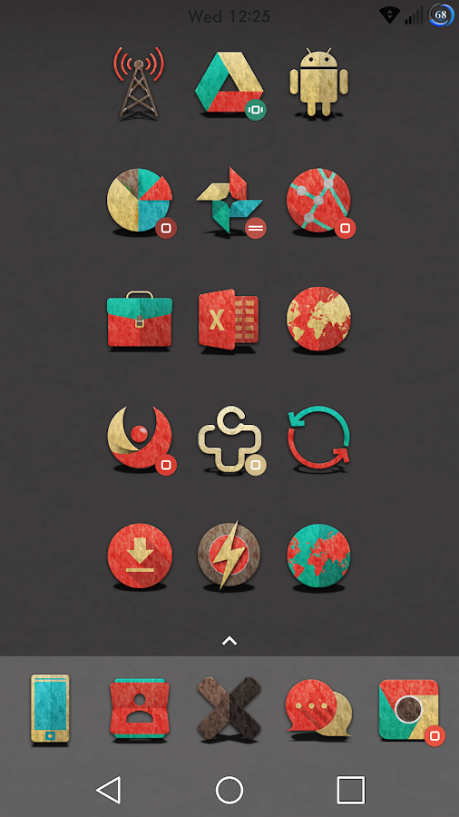 Retron-UI Icon Pack Screenshot 8