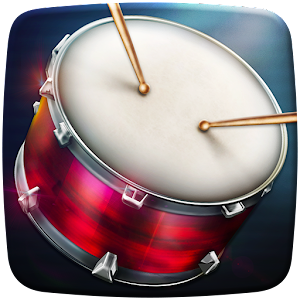 Drums: real drum set music games to play and learn New App on Andriod - Use on PC