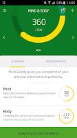 Screenshot of Nuffield HealthScore™