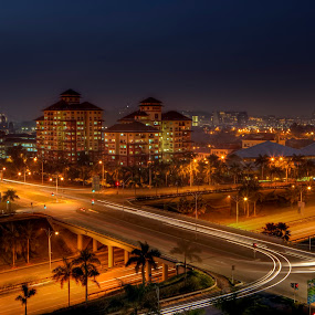 Real Life Works: Breaking Dawn by Danial Abdullah - City,  Street & Park  Vistas