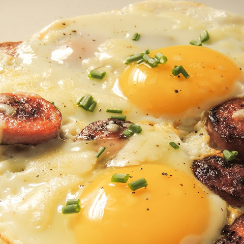 Eggs With Chorizo!