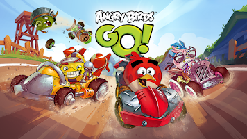 Screenshot of Angry Birds Go!
