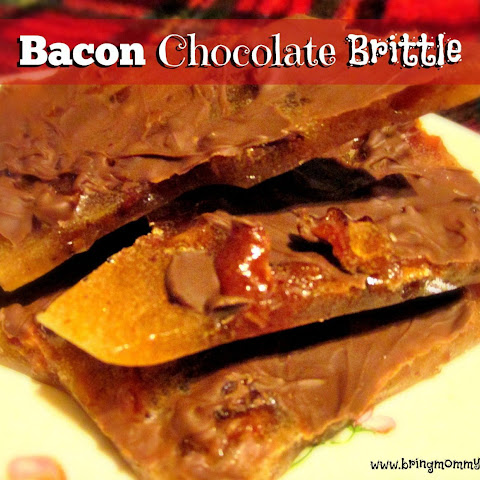 Chocolate Bacon Brittle