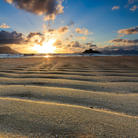 Line & Light by Tsukiyama Kaminaga - Landscapes Beaches ( landscape, beach )