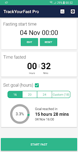 Track Your Fast Pro - Intermittent Fasting Tracker Fitness app screenshot for Android