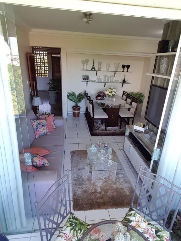 Apartamento com 3 dormitórios à venda, 80 m² por R$ 210.000 - Brisamar - João Pessoa/PB