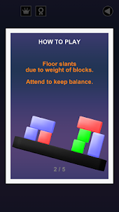 Physitris : Block Physics Game - screenshot