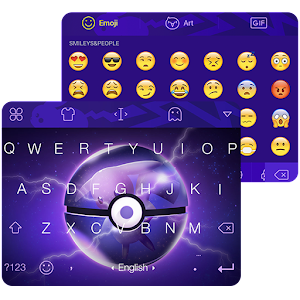 Keyboard for Pokemon Theme Icon