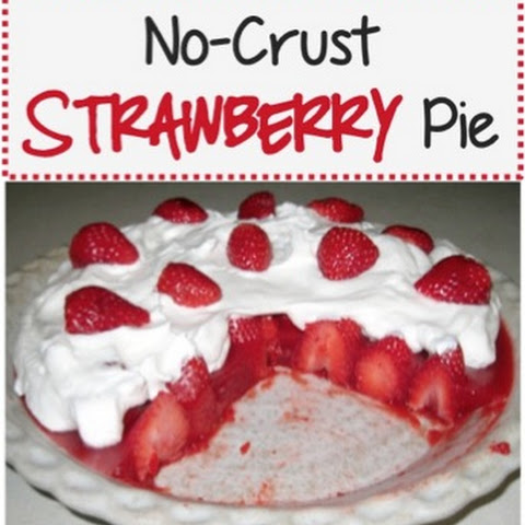 No-Crust Strawberry Pie