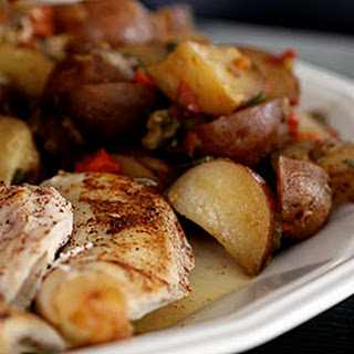 Lazy Chicken and Potatoes