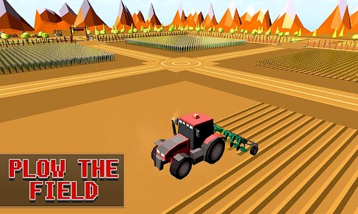 Game Blocky Plow Farming Harvester apk for kindle fire