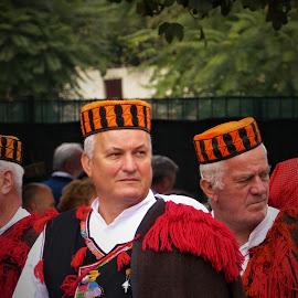 Folk customs by Alen Zita - People Musicians & Entertainers ( folk, vinkovci, croatia, man, custom )