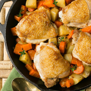 One Pot Chicken with Carrots and Potatoes