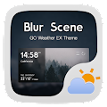 App Blur Scene GO Weather Widget APK for Kindle