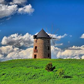 Windmill by Emre Tunç - City,  Street & Park  City Parks ( altın köy, ankara, city, windmill, altinkoy, yel değirmeni, altınköy, village, gold village, mill )