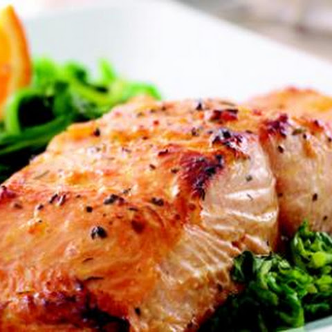 Orange-Glazed Salmon