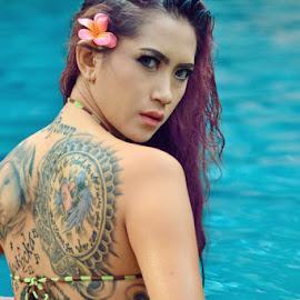 by Ak Wanabe - People Body Art/Tattoos ( model, tattoos, beauty,  )