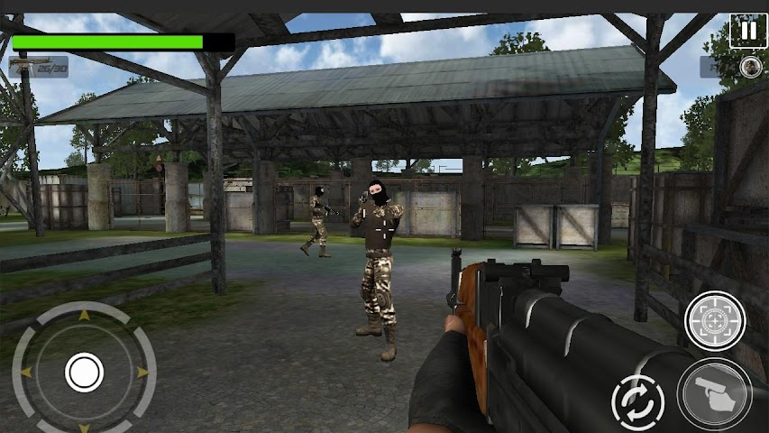 android Sniper Enemy Killer 2016 Screenshot 1