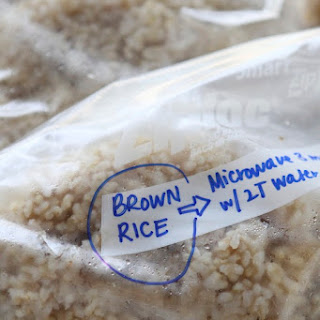 Make Ahead Brown Rice for the Freezer