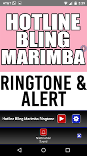 Hotline Bling Marimba Remix Ringtone und Alert android apps download