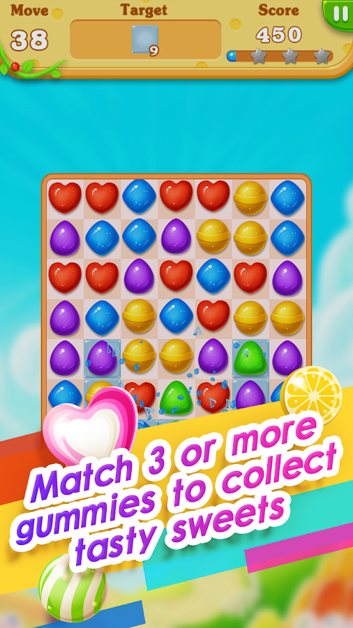gl ckliches toffee candy crush android spiele download. Black Bedroom Furniture Sets. Home Design Ideas