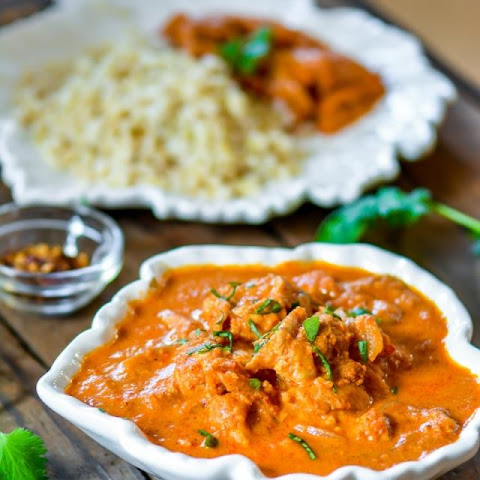 Restaurant Style Butter Chicken in Slow Cooker