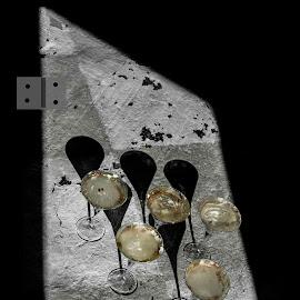 Glass by Staffan Håkansson - Digital Art Things ( five, glass, rapsbollen, light, shadows )