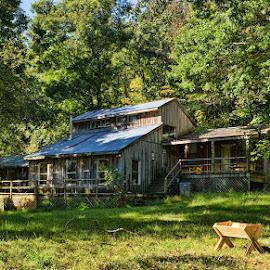 Russenberger Ranch by Deborah Russenberger - Buildings & Architecture Homes ( cabin, ranch, hazel valley, arkansas )